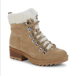 Marc Fisher LTD Shearling Suede Boots